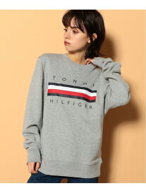 TOMMY HILFIGER (M)TOMMY HILFIGER(トミーヒルフィガー) ロゴ スウェット トミーヒルフィガー カットソー パーカー グレー ネイビー ホワイト【送料無料】