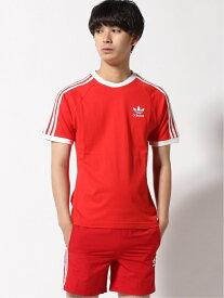 adidas Originals アディカラー クラシックス 3ストライプ 半袖Tシャツ / アディダスオリジナルス アディダス カットソー Tシャツ グリーン ブラック ブルー ホワイト レッド【送料無料】