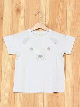クマワンポイントTシャツ/ルームウエア/パジャマ/キッズ