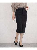 17AWカラータイトスカート