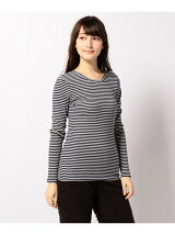 COTTON RIB LONG SLEEVE T