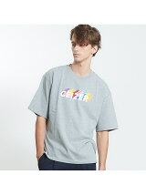 【ABAHOUSE×CEIZER】天竺ショートスリーブロゴプリントTシャツ