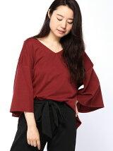 (W)ドロップショルダーTシャツ・カットソー(日本限定)
