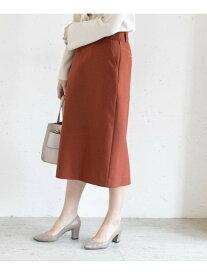 ROSSO ボンディングセミタイトスカート アーバンリサーチロッソ スカート スカートその他 ブラウン【送料無料】