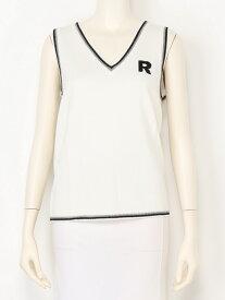 【SALE/40%OFF】rienda suelta golf wear アーガイルインターシャアーガイルRシャベスト リエンダスエルタゴルフウェア ニット【RBA_S】【RBA_E】【送料無料】