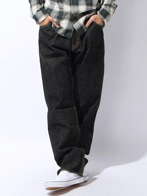 Five DIA Stitch Black Denim Pants