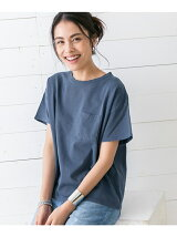 ピグメントクルーネックTシャツ