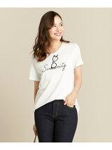 スパンコールロゴ Tシャツ