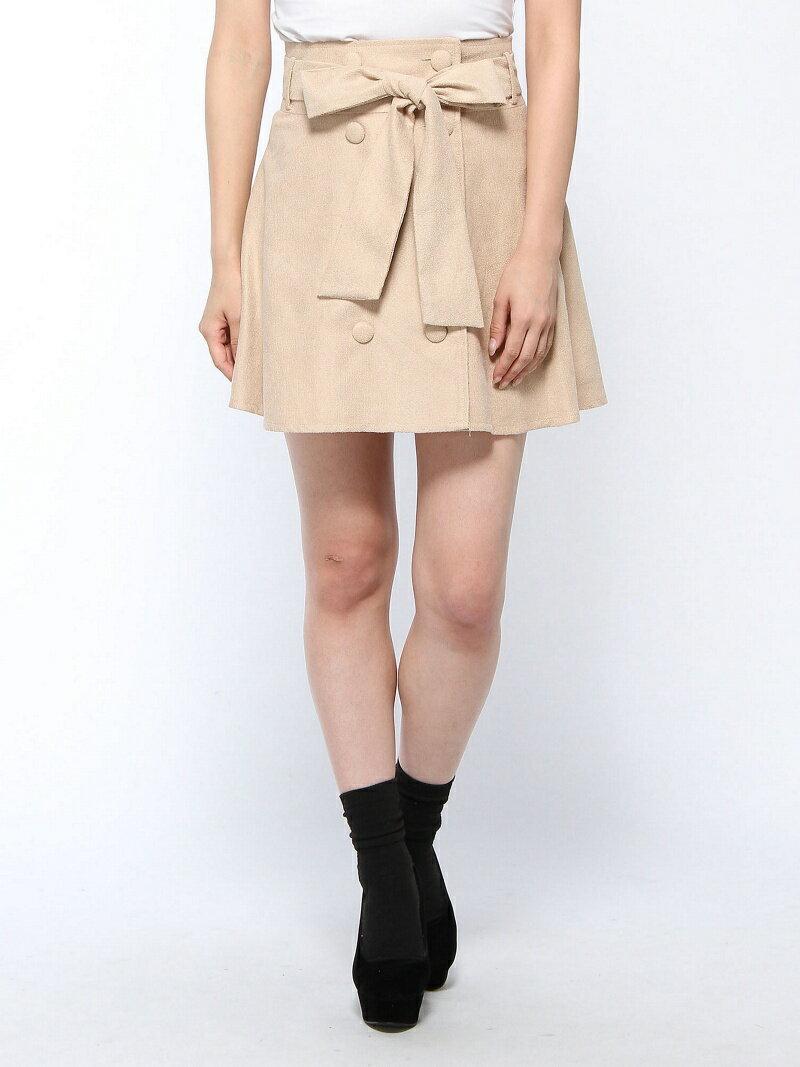 【SALE/67%OFF】CECIL McBEE トレンチフレアスカート セシル マクビー スカート【RBA_S】【RBA_E】