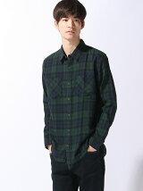 【BROWNY STANDARD】(M)ビエラチェックシャツ
