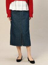 <Wrangler>デニムミドルスカート