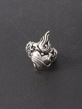 (U)Flaming Heart Ring