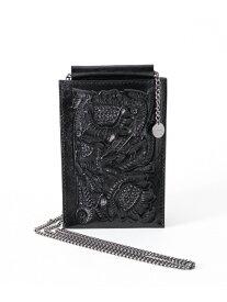 【SALE/30%OFF】GRACE CONTINENTAL Mobile shoulder グレースコンチネンタル バッグ ショルダーバッグ ブラック ゴールド ホワイト【送料無料】