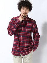 (M)NFフランネルチェックシャツ