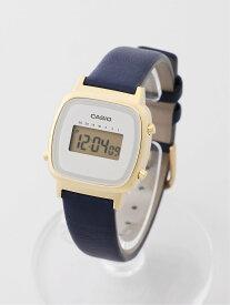 CASIO CASIO/(L)LADY'S DIGITAL/LA670WFL-2JF ブリッジ ファッショングッズ 腕時計 ネイビー【送料無料】