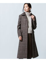 FOX BROTHERS BRITISH WOOL ステンカラーコート
