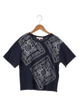 バンダナ刺繍Tシャツ