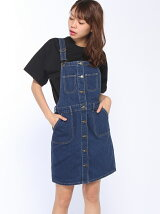 【BROWNY STANDARD】(L)レトロタイトジャンパースカート