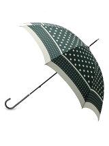 雨晴兼用ドット長傘