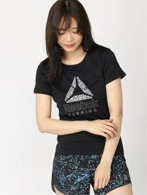 【SALE/20%OFF】Reebok (W)ランニング グラフィック Tシャツ リーボック スポーツ/水着 スポーツウェア ブラック オレンジ ホワイト