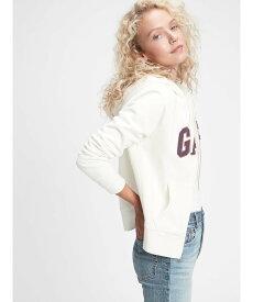 GAP (W)Gapロゴパーカー ギャップ カットソー パーカー ホワイト グレー ネイビー【送料無料】