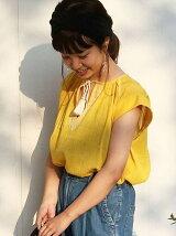【Market】楊柳刺繍ブラウス