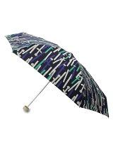 雨晴兼用テキスタイル調パターン折り畳み傘