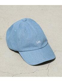 【SALE/30%OFF】ViS 【泉里香さん着用】【Lee×ViS】ロゴキャップ ビス 帽子/ヘア小物 キャップ ブラック ベージュ ブルー