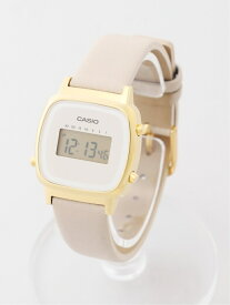 CASIO CASIO/(L)LADY'S DIGITAL/LA670WFL-9JF ブリッジ ファッショングッズ 腕時計 ベージュ【送料無料】