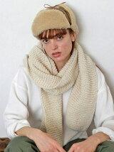 Alpaca Knit Muffler