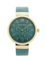 ラウンドフェイス腕時計