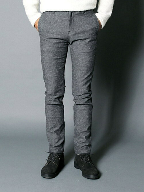 C/AC JAZZ NEP STRETCH TAPERED PANTS