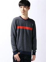 (M)ラインデザインニット・セーター