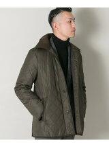 URBAN RESEARCH Tailor フーデッドキルティングジャケット