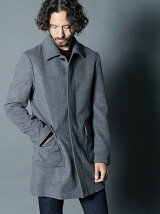 WOOL/CASHMERE F/F SINGLE COAT
