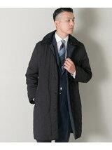 URBAN RESEARCH Tailor フーデッドキルティングコート