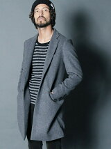 WOOL/CASHMERE SINGLE CHESTER FIELD COAT