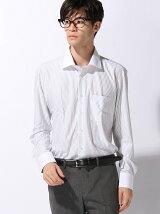 (M)アイシャツ P-100 セミワイド 長袖