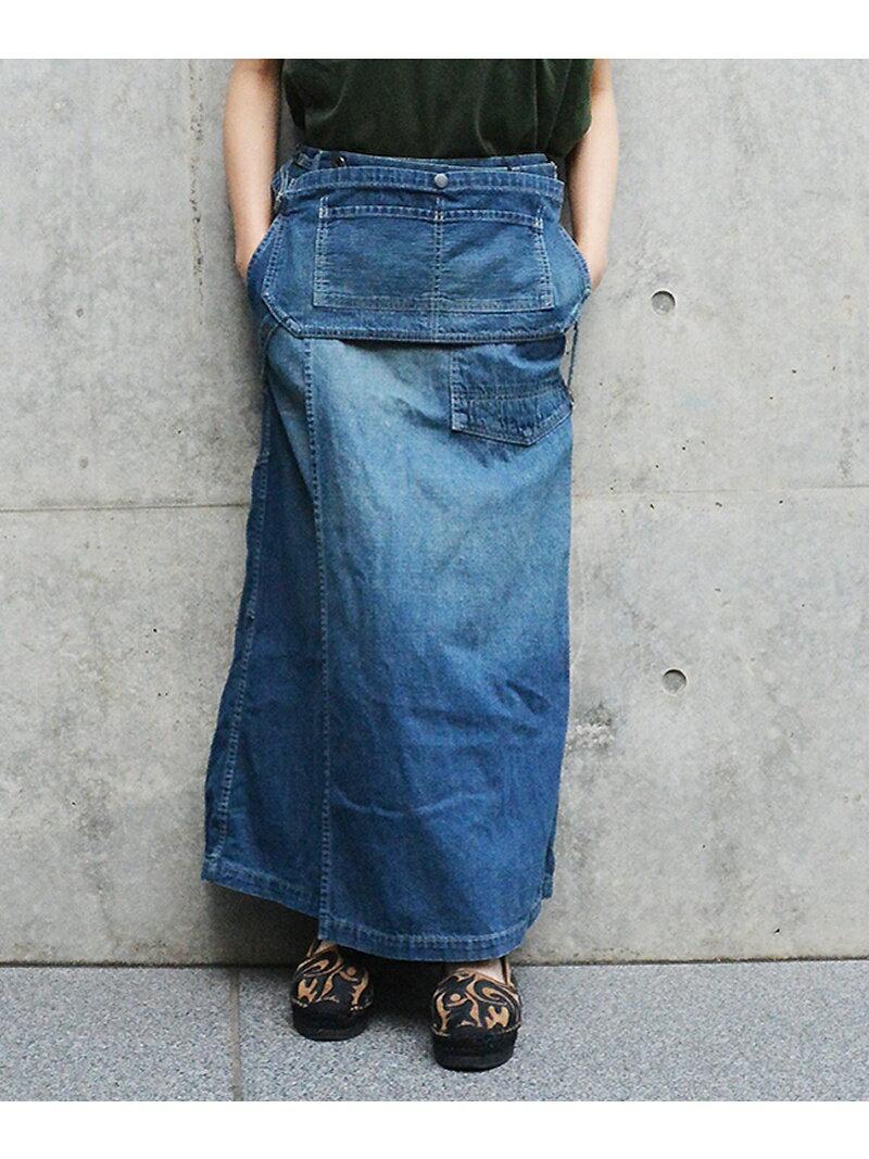 【SALE/40%OFF】Johnbull Johnbull/(W)デニムラップスカート ジョンブルプライベートラボ スカート【RBA_S】【RBA_E】【送料無料】