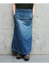Johnbull/(W)デニムラップスカート