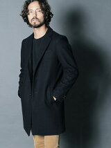 WOOL MELTON STAND UP S3B CHESTER COAT