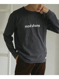 【SALE/50%OFF】DOORS melelanaLong-sleeveT-shirts アーバンリサーチドアーズ カットソー Tシャツ ブラウン ベージュ ブラック