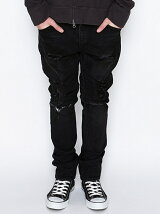 TAPERED PANTS_STRETCH DENIM(DAMAGE_NOTE)