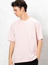 KC HI/G PONTE ポケット C/N 半袖 Tシャツ