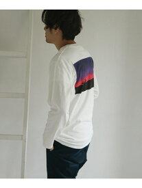 【SALE/60%OFF】DOORS JONASCLAESSON×DOORSSurf柄Tシャツ アーバンリサーチドアーズ カットソー Tシャツ ホワイト ブルー ブラック レッド