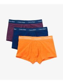 【SALE/30%OFF】Calvin Klein Underwear (M)カルバン クライン 【カルバン クライン アンダーウェア】 コットン ローライズ ボクサーパンツ 3枚パック NB2614 カルバン・クライン インナー/ナイトウェア ボクサーパンツ/トランクス
