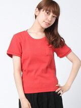 リブポケTシャツ