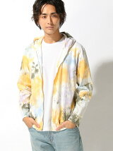 GOOD ON/(M)GO TIE-DYE ZIP TEE PARKA