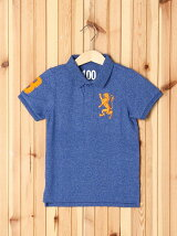 (K)ライオンシシュウポロシャツ