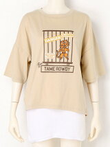 TAME ROWDY Tシャツ